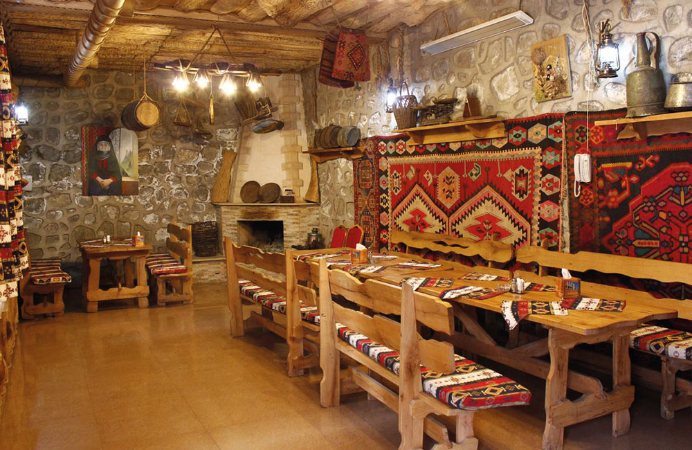 "Restaurant Hotel ""Diana"" in Goris"