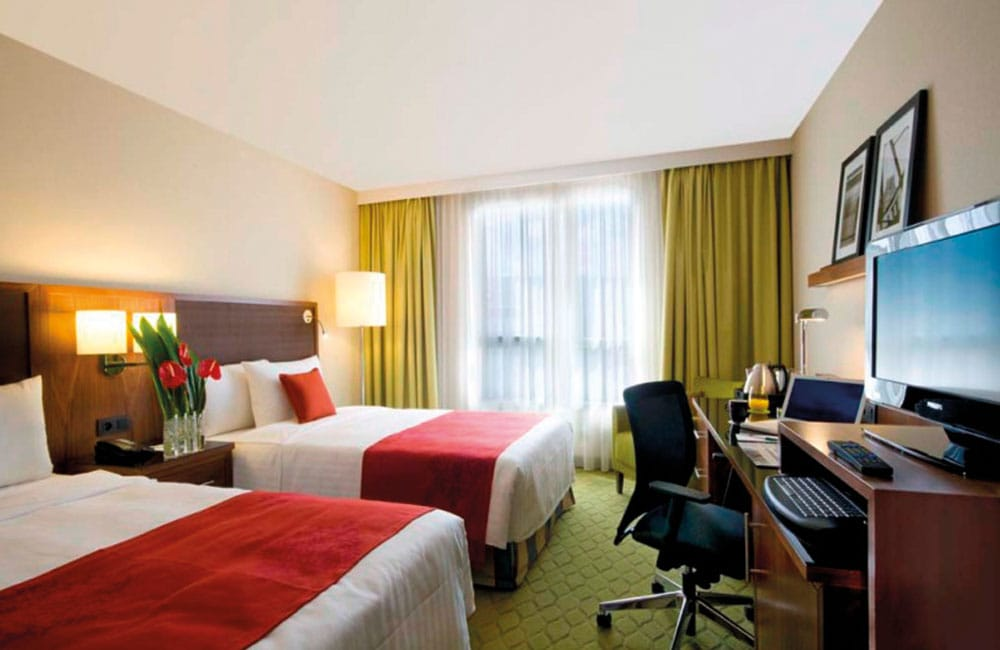 "Zimmerbeispiel Hotel ""Courtyard by Marriott"""